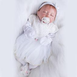 <font><b>20</b></font> Inch Reborn Silicone Dolls With White