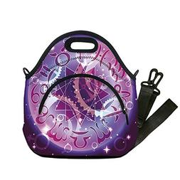 Insulated Lunch Bag,Neoprene Lunch Tote Bags,Astrology,Zodia