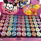 30x Disney Mickey, Minnie Tsum Tsum Self Ink Stamps Party Fa