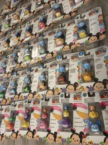 42 New DIFFERENT Tsum Tsum LOT 3 PACK 4 5 Color figures