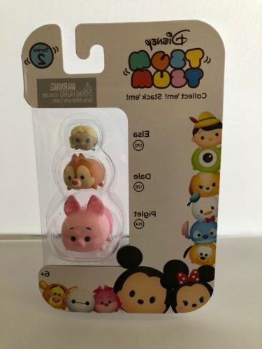 8 DIFFERENT Tsum Disney LOT 3 SERIES figure toy mickey mouse