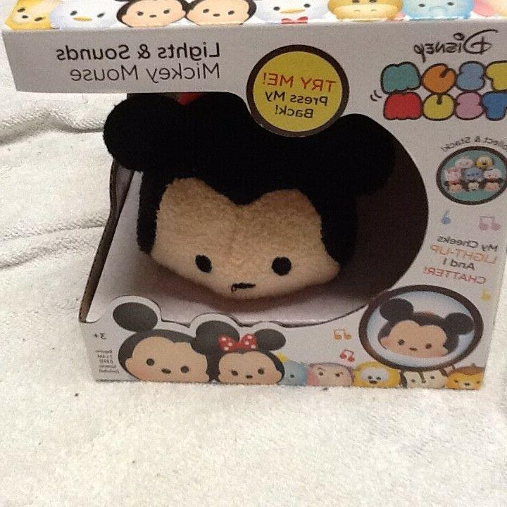 DISNEY TSUM TSUM LIGHTS and SOUNDS - MICKEY MOUSE PLUSH FIGU