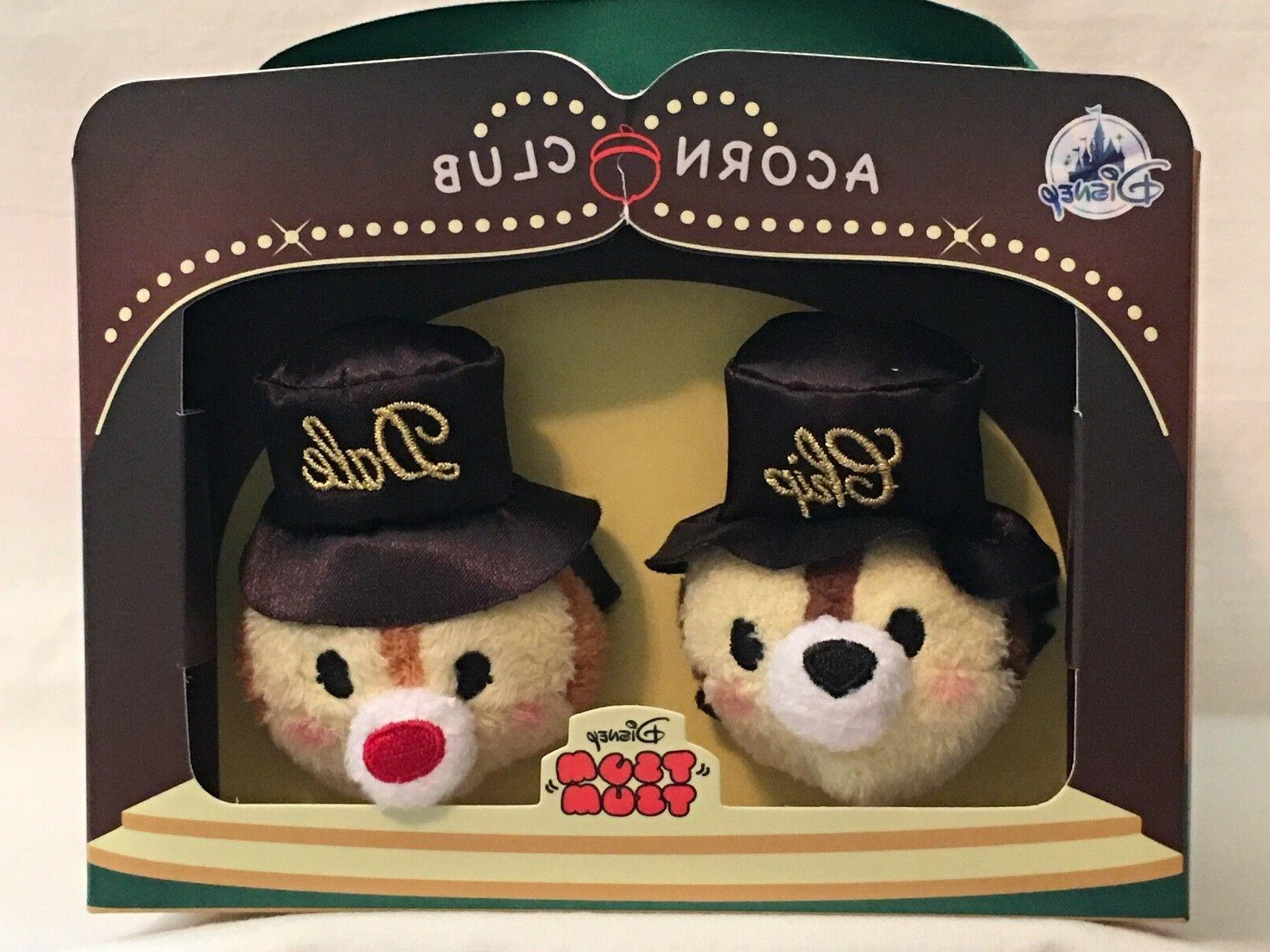 Disney Parks Chip 'n Dale 75th Anniversary Tsum Tsum Box Set