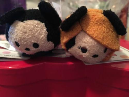 Disney Store Tsum Tsum Tower Of Terror Set Of 2 Mickey Minni
