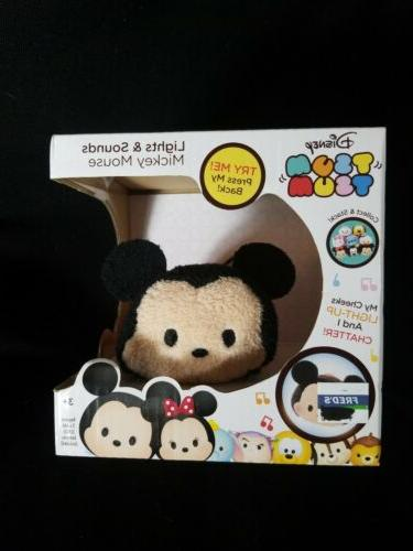 Disney TSUM TSUM~Lights and Sounds MICKEY MOUSE~NEW in packa