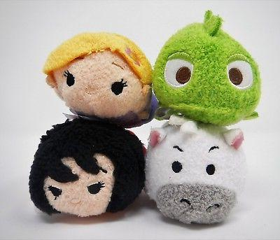 Disney TSUM TSUM TANGLED Mini Plush RAPUNZEL PASCAL MAXIMUS