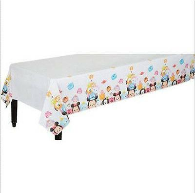 Disney TSUM TSUM plastic TABLECLOTH birthday party supplies
