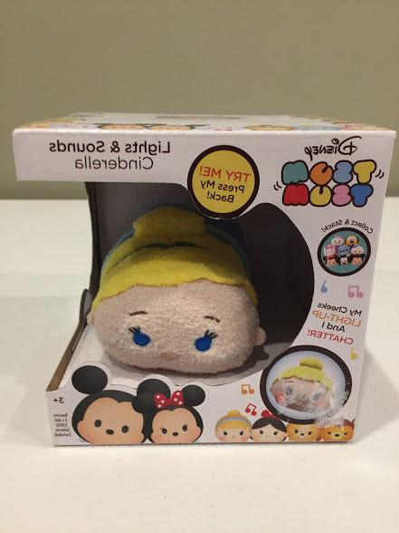 Disney Tsum Tsum Cinderella Lights And Sounds Chatter Plush