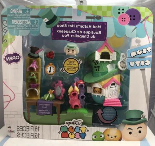 Disney Tsum Tsum City - Mad Hatter's Hat Shop Story Pack Pla