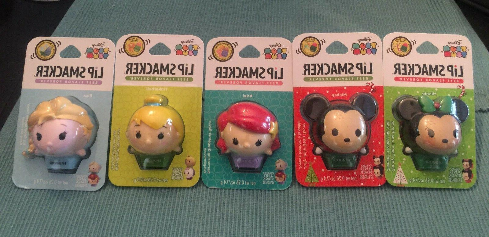 Disney Tsum Tsum Lip Smacker Balm Collectible Pick Your Colo