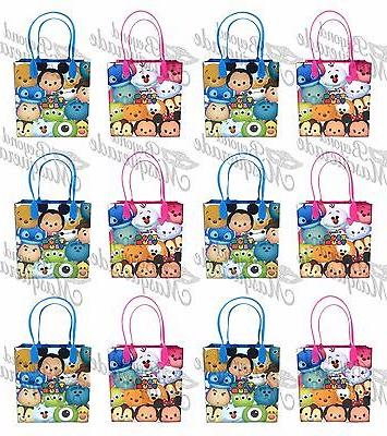 Disney Tsum Tsum Party Favor Supplies Goody Loot Gift Bags