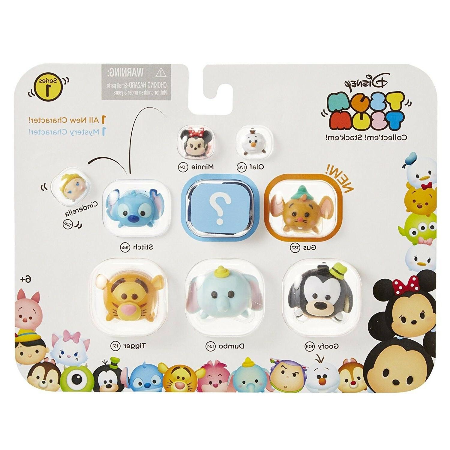Disney Tsum Tsum Series 1 Style #2 Figures 9 Pack Toys Colle