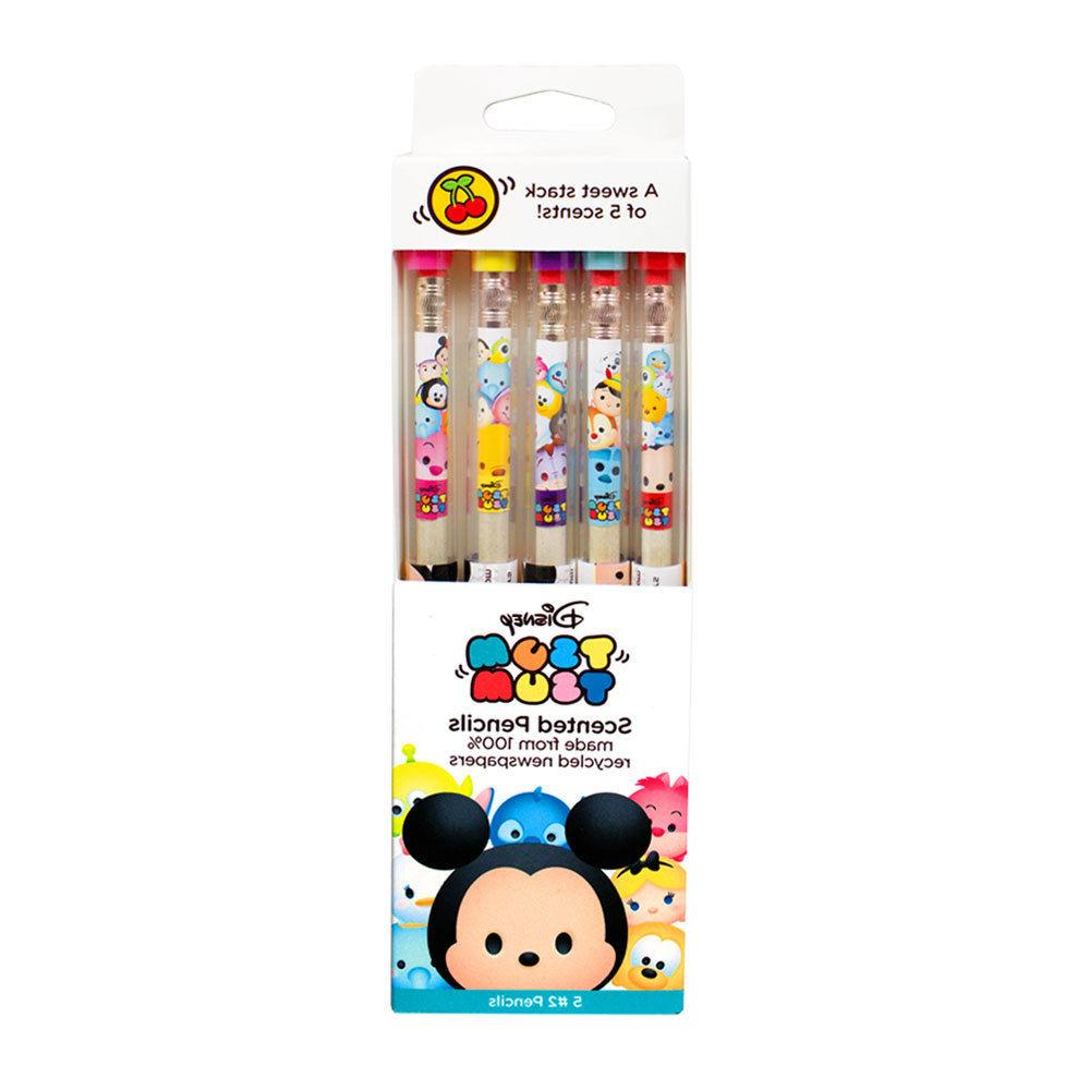 Disney Tsum Tsum Smencils 5-Pack of Scented Pencils by Scent