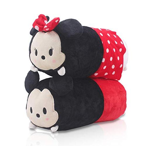 Finex - Set of 2 - Mickey Mouse and Minnie Mouse Tsum Tsum S