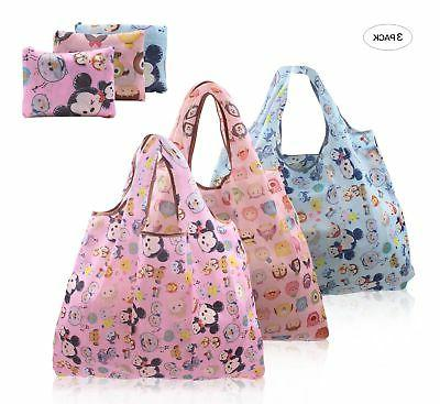 Finex Set of 3 Tsum Tsum Foldable Reusable Tote Recycle Shop