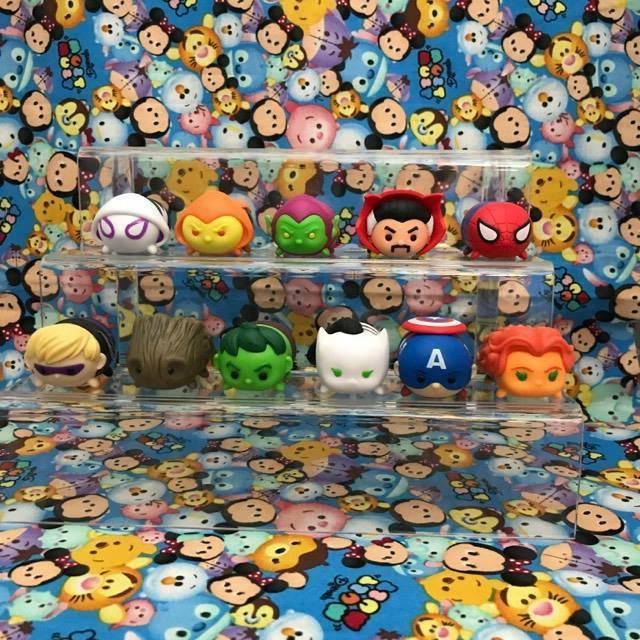 MARVEL Tsum Tsum Vinyl Characters - Large and Mediums