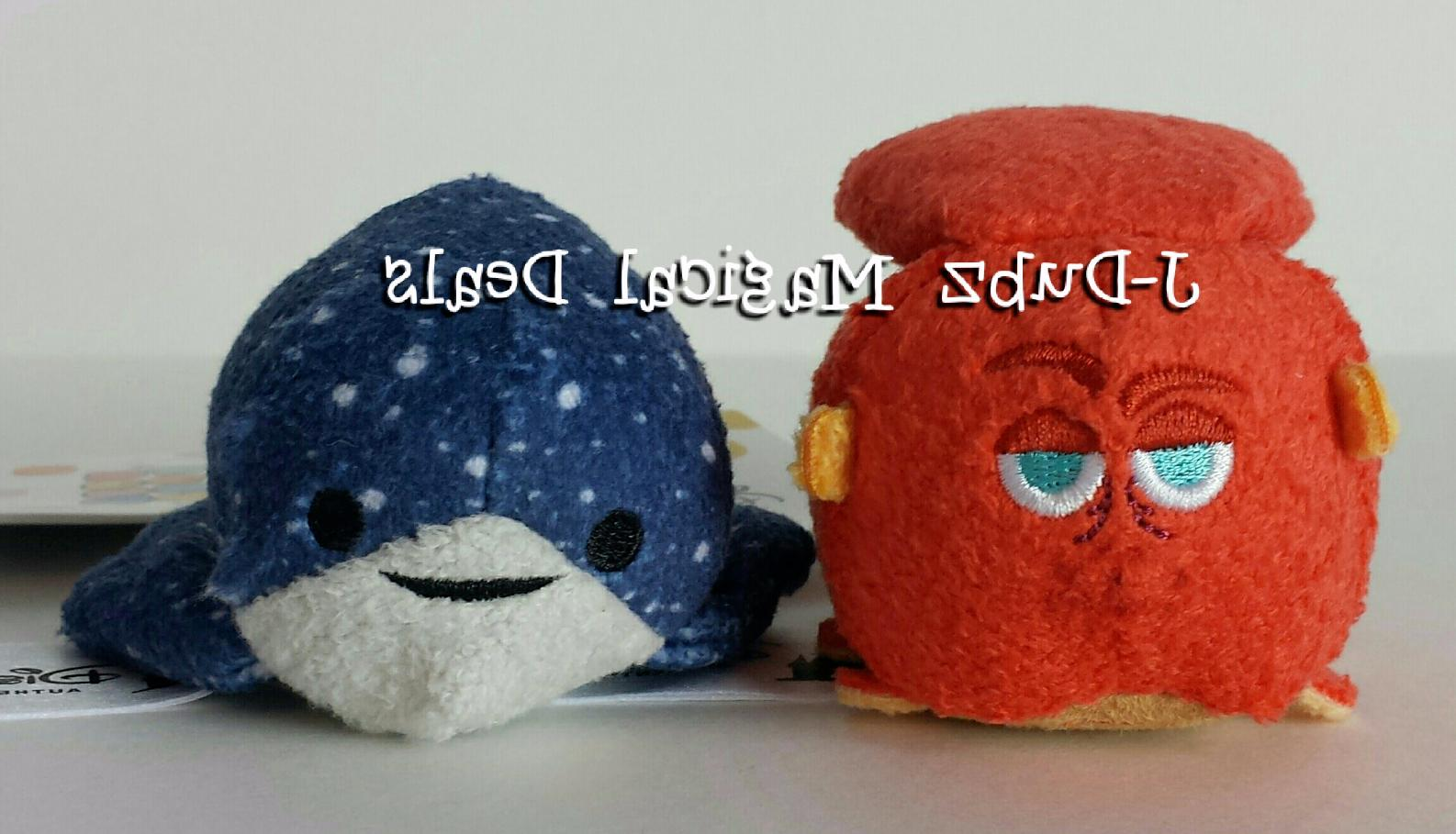 NWT Disney Parks FINDING DORY Mini Tsum Tsum SET OF 2 MR. RA