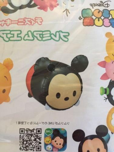 New Disney Tsum Tsum Mickey Inflatable Blowup Toy