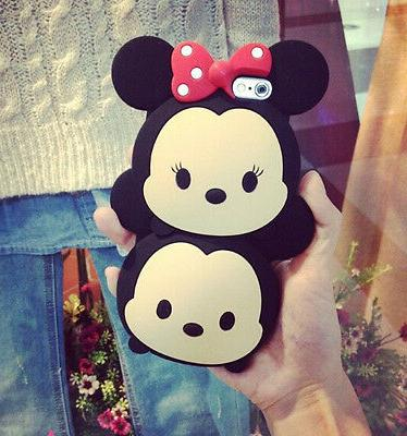 TSUM TSUM cartoon Character silicone Hard Case Cover For iPh