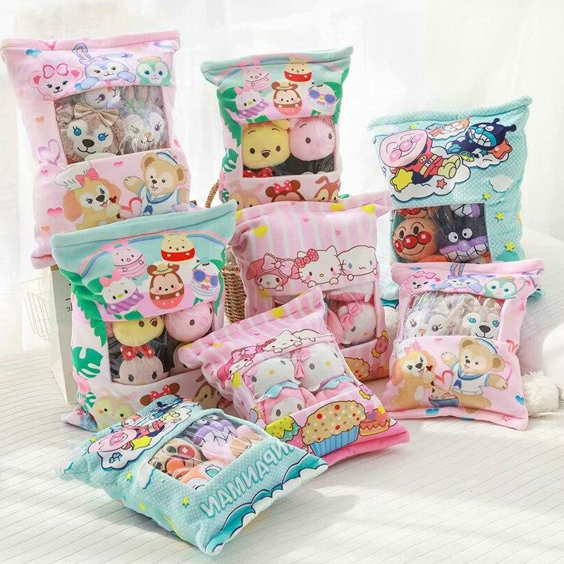 A large bag Soft Pillow <font><b>TSUM</b></font> Cinnamoroll Doll For Gift