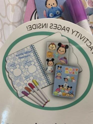 Disney's Tsum Journal pages: Color and your Journal