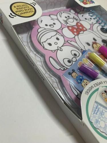 Disney's Tsum Journal 60 pages: and your own