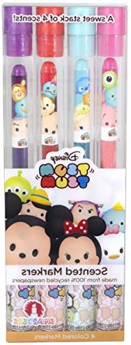 Disney Tsum Tsum Smarkers - 4-Pack of Scented Felt Tip Marke