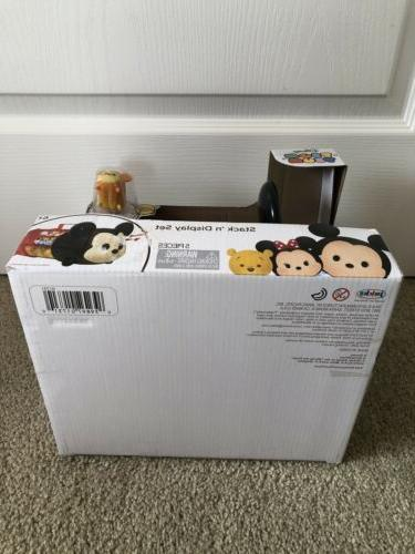 Disney Tsum with Mickey Stack and Display Set in