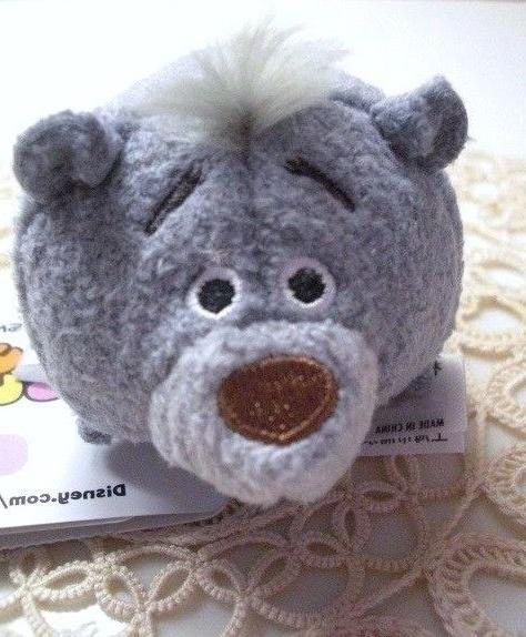Disney Jungle Book Tsum Tsum BALOO BEAR  Stuffed Plush Anima