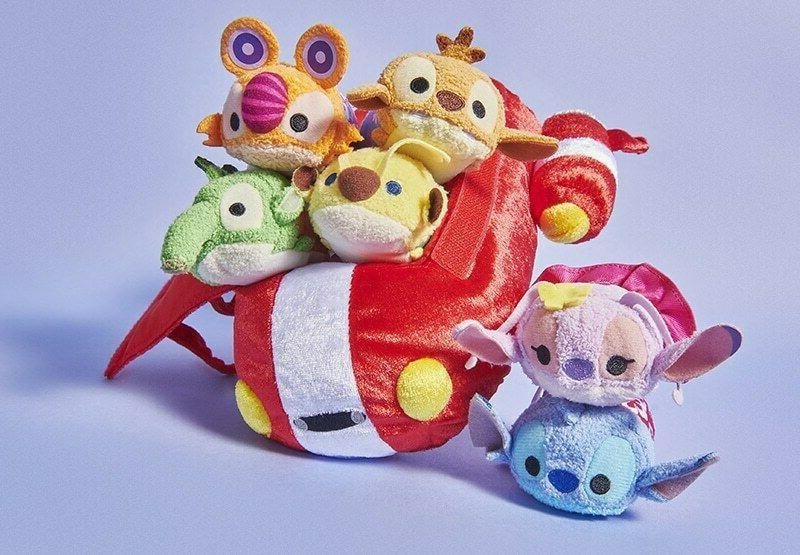 LILO TSUM TSUM BAG SET PLUSH DISNEY STORE