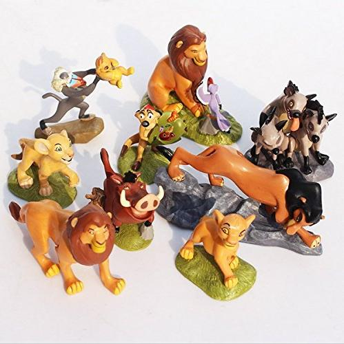 The Lion King Toys Action Figuressimba Nala Rafiki