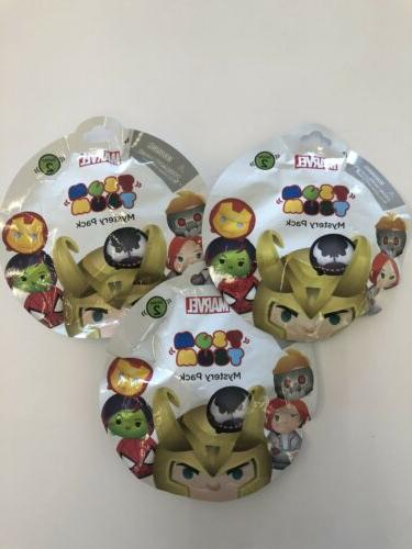 lot 3 marvel tsum tsum series 2