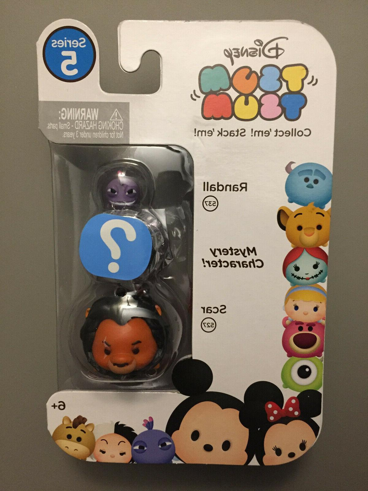 Lot of 4 Disney Tsum Stack 'em Mystery Easter