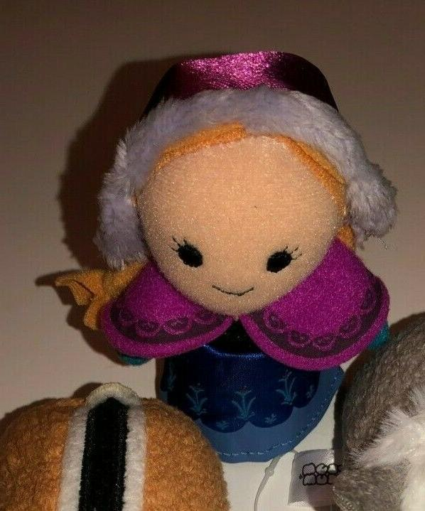 """Tsum New Tags 3"""" Toys & Ana finger"""