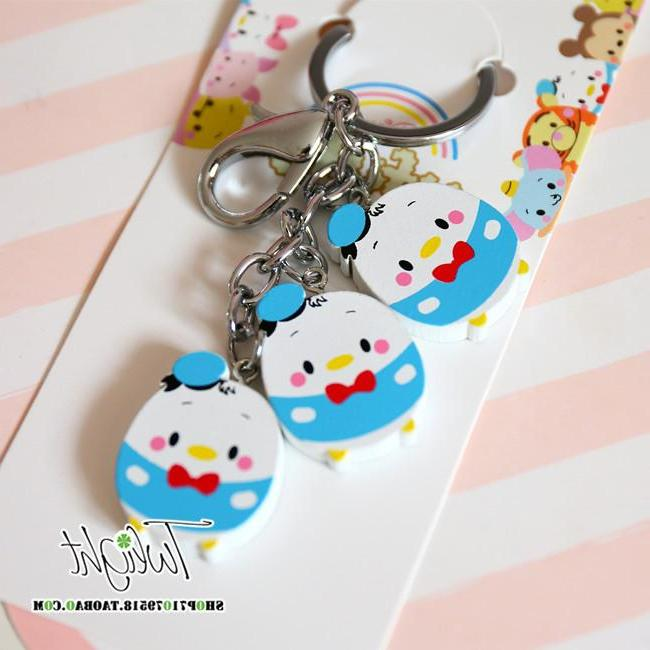 New Cartoon UFufy <font><b>Tsum</b></font> Wooden Chain For Gifts
