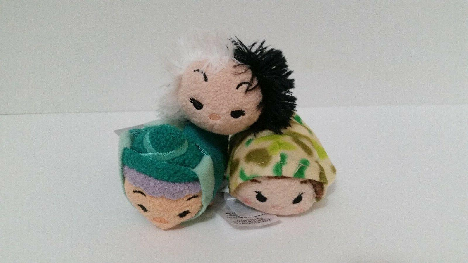 nwt tsum tsum mini plush set of