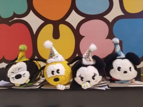 Disney Mouse Mickey's Birthday Tsum Tsum Plush