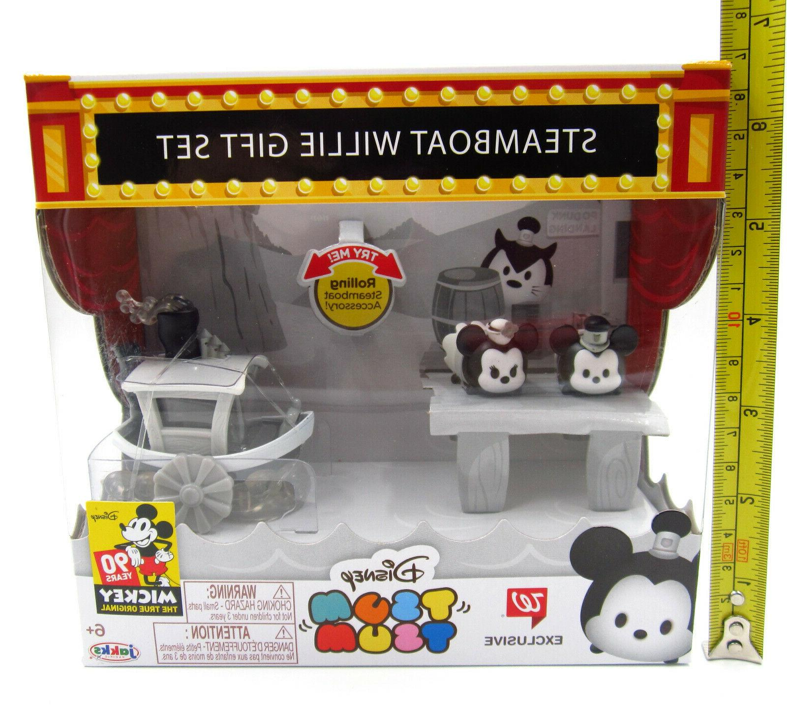 Steamboat Disney Tsum ~ Exclusive 90 Yrs of Mickey