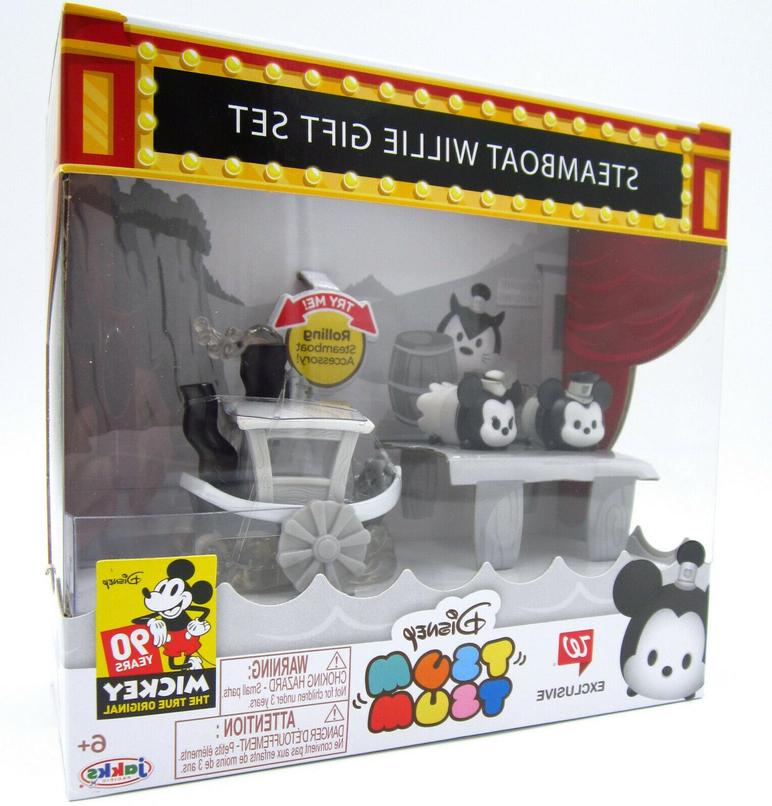 Steamboat Tsum Figure Set Exclusive Yrs Mickey