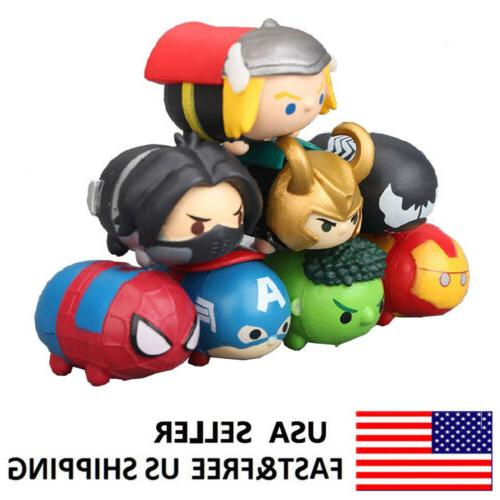 the avengers tsum series spiderman iron man