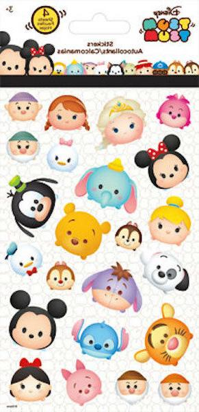 4 Sheets Disney Tsum Tsum Stickers Party Favors  Teacher Sup