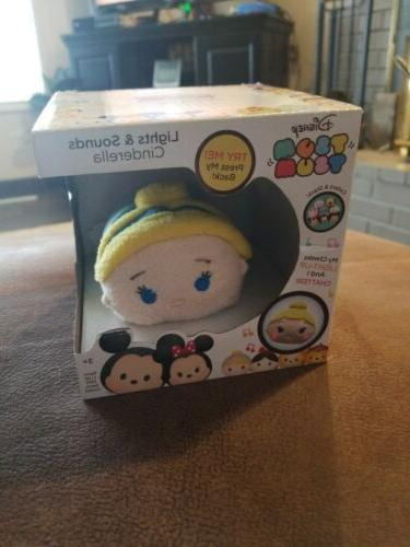 tsum tsum cinderella lights and sounds chatter