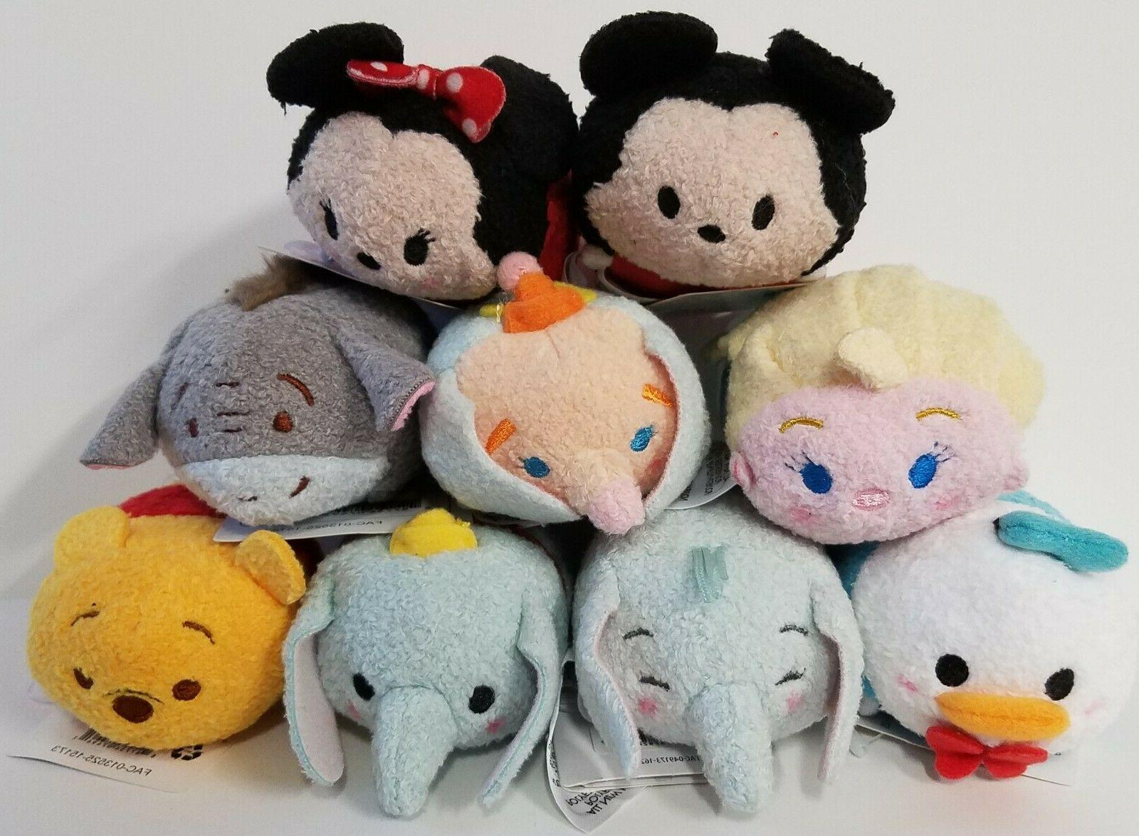 Disney Tsum Tsum Exclusive 3.5 Plush Mickey Mouse Nemo Star Pooh