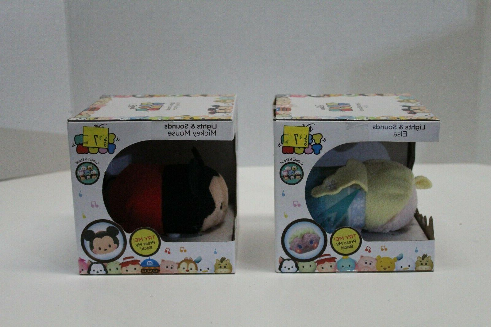 Disney Tsum and Mickey Mouse Dolls