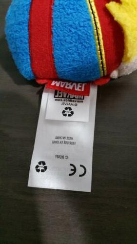 Disney Tsum Tsum Captain Marvel Mini Plush NWOT