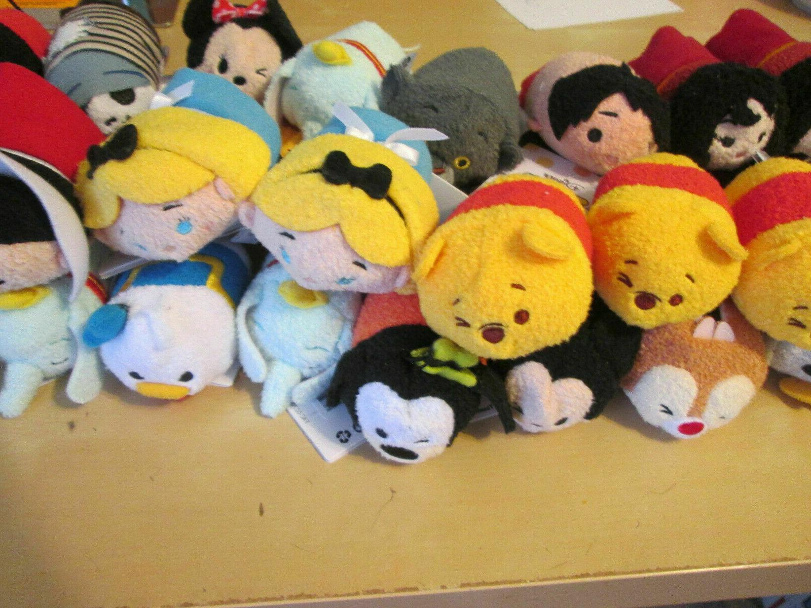 Disney Tsum Mini Plush You Pick Free Shipping