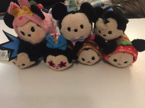tsum tsum minnie mickey 3 5 mini