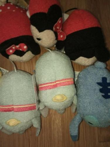 "Disney Tsum Tsum Lot - TsumTsum Assorted 3.5"" Plush"