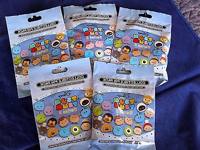 Disney * TSUM TSUM SERIES #5 * 5 PACKS * NEW 5-pin Collectib