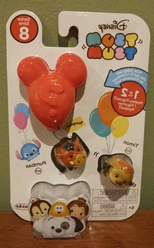 Disney Tsum Tsum Series 8 Minifigures Your New in Package!